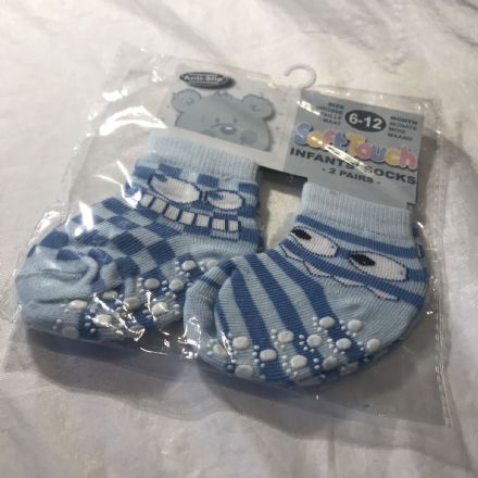 6-18 Months Funny Face Socks